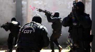 Sondereinheit der Polizei in Brasilien