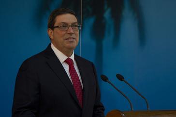 kubanischer Außenminister Parrilla