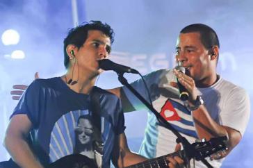 Das Duo Buena Fe gehört zu den beliebtesten Musikgruppen Kubas