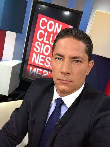 Fernando del Rincón, einer der beiden vorgeladenen CNN-Journalisten