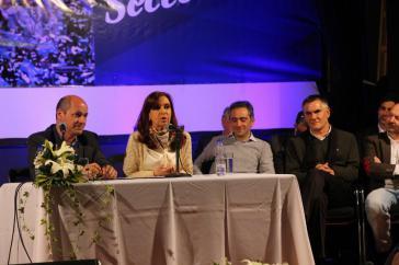 Cristina Fernández de Kirchner bei einer Veranstaltung am 18. August