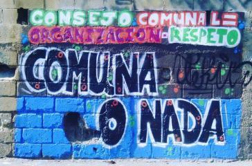 """""""Kommune oder Nichts"""" - Grafito in Venezuela"""