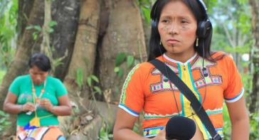Beim Kommunikationsgipfel forderten die Teilnehmenden die Umsetzung des Rechts auf Information und Kommunikation der indigenen Völker
