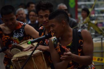 """Musiker beim """"Fest für den Frieden"""""""
