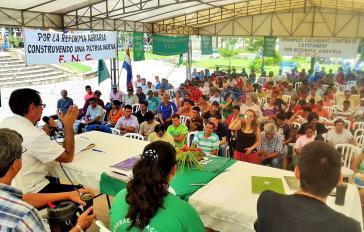 Beim Jahresabschlusskongress der Bauernorganisation FNC
