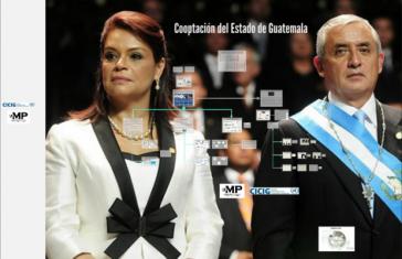 Ex-Vizepräsidentin Baldetti und Ex-Präsident Otto Pérez Molina