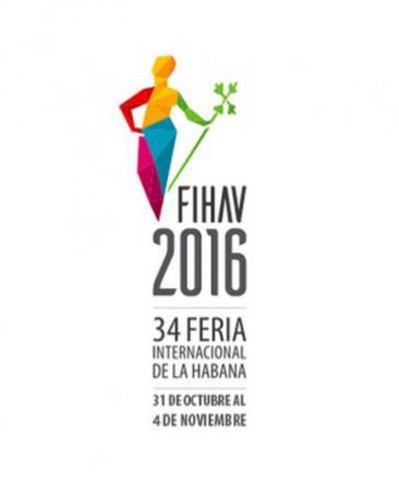 """Logo der diesjährigen Industrie- und Handelsmesse """"FIHAV"""" in Kuba"""