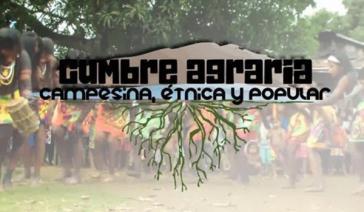 """Sprecher des """"Cumbre agraria campesina étnica y popular"""" fordern Sicherheitsgarantien vom Staat"""