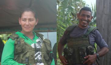 Die Farc-Mitglieder 'Mónica' und 'Joaco' wurden nach Augenzeugenberichten von Scharfschützen der kolumbianischen Streitkräfte getötet