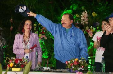 Kanididiert wieder: der amtierende Präsident Daniel Ortega