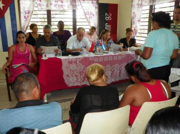Debatte in Santiago de Cuba
