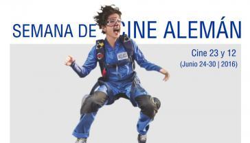 Vom 24. bis 30. Juni findet im Cine 23 y 12 in Vedado die Deutsche Filmwoche statt ( Ausschnitt aus dem Plakat)