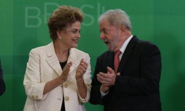 Dilma Rousseff und Lula da Silva
