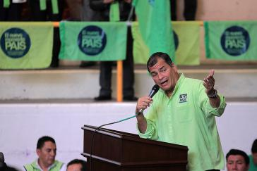 In Ecuador machen Präsident Correa und die Regierungspartei Alianza País mit dem Kampf gegen Wirtschaftskriminalität ernst
