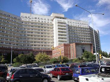 """Vor dem Gerichtsgebäude """"Comodoro Py"""" im Stadtteil Retiro in Buenos Aires trat Kirchner erstmals wieder auf"""