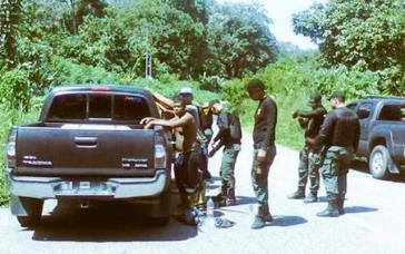Der Einsatz wurde von einer Spezialeinheit des Militärs durchgeführt