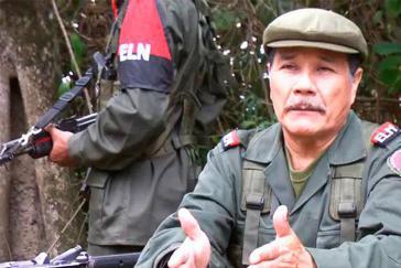 """""""Für den Frieden geht der Widerstand weiter"""": ELN-Oberkommandierender Nicolás Rodríguez Bautista"""