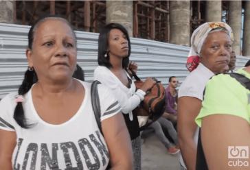 In den Straßen von Havanna, am Tag nach dem Tod von Fidel Castro