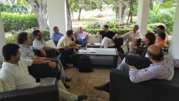 Delegierte der Regierung Santos und der Farc treffen sich seit Samstag wieder in Kubas Hauptstadt