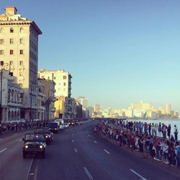 Am Malecón in Havanna