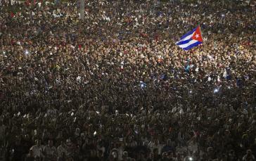 Millionen ehren Fidel Castro in Havanna