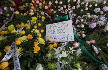 """""""Danke für alles, Comandante"""": Letzter Gruß der Jura-Fakultät der Universität Havanna"""