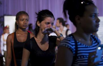 Zehntausende hatten Castro in den vergangenen Tagen in Havanna ihre letzte Ehre erwiesen