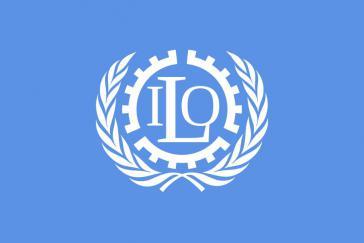 Logo der Internationalen Arbeitsorganisation der Vereinten Nationen (ILO)