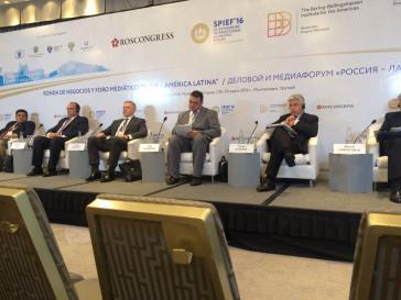 Teilnehmer beim Forum in Montevideo
