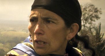 Unter den Festgenommenen: die Machi Francisca Linconao