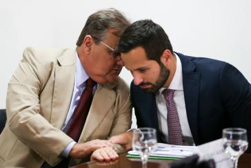 Mussten zurücktreten: Gedell Vieira Lima und Marcelo Calero