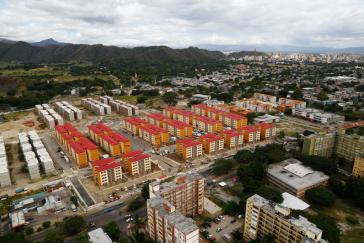 In dieser Neubausiedlung im Bundesstaat Aragua übergab Präsident Maduro die millionste Wohnung
