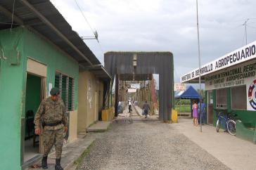 Grenze zwischen Costa Rica und Panama