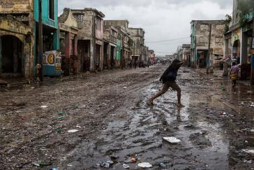 Haiti nach dem Wirbelsturm Matthews
