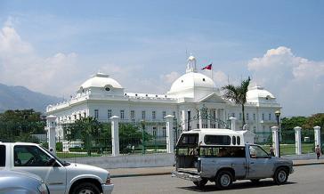 Präsidentenpalast in Port-au-Prince