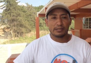 Wiederholt Ziel von Mordanschlägen: Copinh-Vorsitzender Tomás Gómez