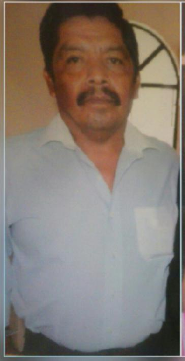 Wurde ermordet: Irineo Salmerón Dircio, Koordinator und Zuständiger für Kommunikation der Crac-PC der Gemeinde Tixtla im Bundesstaat Guerrero, Mexiko