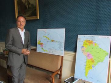 Der Sonderberater von Präsident Hollande für Lateinamerika, Bel