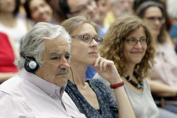 José Mujica bei der ADLAF-Tagung in Berlin