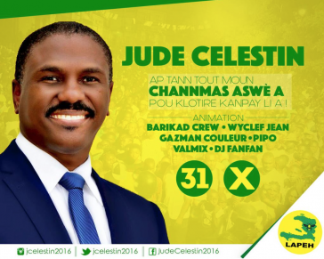 Will bei Stichwahl in Haiti nicht antreten: Jude Célestin