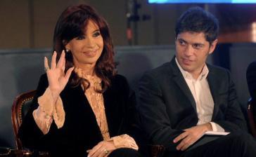Ex-Präsidentin Cristina Fernández de Kirchner und ihr Wirtschaftsminister Axel Kicillof