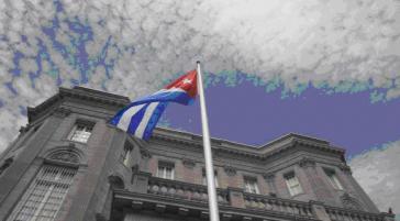 Wiedereröffnung der kubanischen Botschaft in Washington am 20. Juli 2015