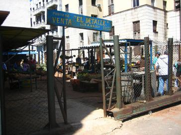 Lokaler Markt in Kuba