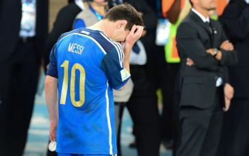 Lionel Messi (hier 2014) verkündete nach der Niederlage gegen Chile sein Aus in der National-Elf von Argentinien