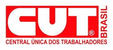 Logo des größten Gewerkschaftdachverbandes in Brasilien, CUT
