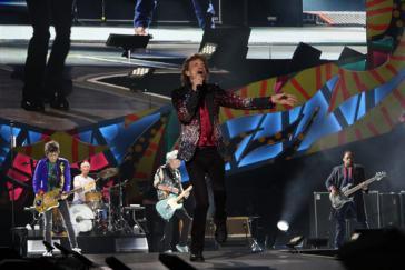 """Die Stones starteten mit """"Jumpin' Jack Flash"""""""