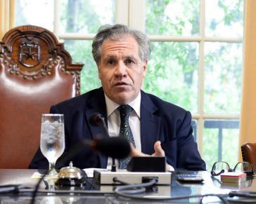 Generalsekretär der OAS, Luis Almagro, fordert Maßnahmen gegen Venezuela