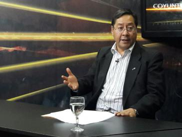 Boliviens Finanzminister Luis Arce