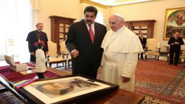 Der Papst nimmt bedingt Vermittlungstätigkeit zwischen Regierung und Opposition an