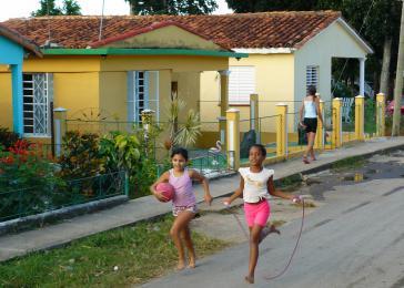 Mädchen in Viñales, Kuba